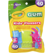 GUM Flossers, Grape Flavor, Kids'