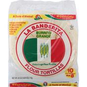 La Banderita Burrito Grande Flour Tortillas