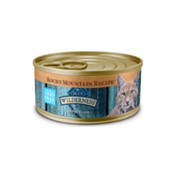 Blue Buffalo Wilderness Rocky Mountain Recipe High Protein Grain Free, Natural Adult Pate Wet Cat Food, Trout Feast