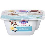 FAGE Crossovers Vanilla Blended Low Fat Greek Strained Yogurt With Brownie Bites