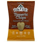 Vegan Robs Tumeric Chips, Supergrain, Mini Waves