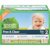 Seventh Generation Diaper Spring Jumbo Stage 2