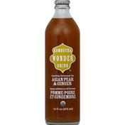 Wonder Kombucha Sparkling Fermented Tea, Asian Pear & Ginger