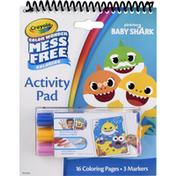 Crayola Activity Pad, Baby Shark