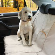 Kurgo Bench Seat Cover - Khaki