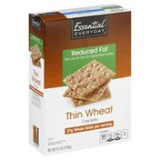 Essential Everyday Crackers, Reduced, Fat, Thin Wheat