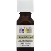 Aura Cacia Essential Oil, 100% Pure, Sandalwood