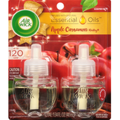 Air Wick Scented Oil Refills, Apple Cinnamon Medley, 2 Pack