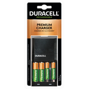Duracell Batteries, Premium Charger, Rechargeable