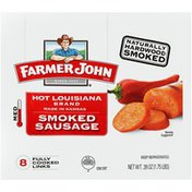 Farmer John Hot Louisiana Brand Smoked Sausage