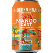 Golden Road Brewing Spicy Mango Cart Ale Beer Can
