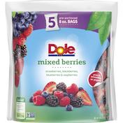 Dole Mixed Berries Frozen Fruit