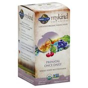 Garden of Life Multivitamin, Whole Food, Prenatal Once Daily, Vegan Tablets