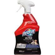 Resolve Stain & Odor Remover, Ultra, for Pet Messes