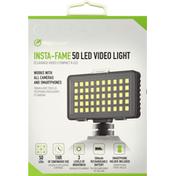 DigiPower Video Light, 50 LED, Insta Fame