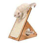 Vesper Walnut Cat Play Station