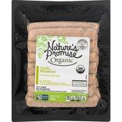 Nature's Promise Chicken Sausage, Organic, Apple Breakfast