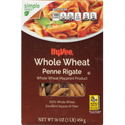 Hy-Vee Penne Rigate, Whole Wheat