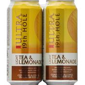 Michelob Malt Beverage, 19th Hole, Light, Tea & Lemonade