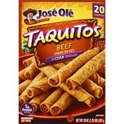 José Olé Taquitos, Beef