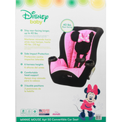 Disney Baby Car Seat, Convertible, APT 50, Minnie Mouse, 40 Pounds