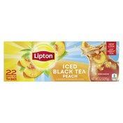 Lipton Family-size Iced Tea Bags Peach Black Tea