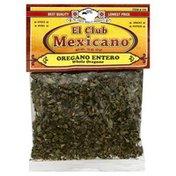 El Club Mexicano Whole Oregano, Card