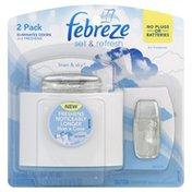 Febreze Air Freshener, Linen & Sky, 2 Pack