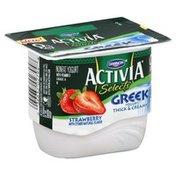 Dannon Yogurt, Nonfat, Greek, Strawberry