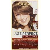 Excellence Permanent Haircolor, Medium Natural Brown 5N
