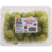 Signature Farms Green Grapes, Organic, IFG Seven, Cotton Candy
