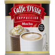 Caffe D'Vita Cappuccino, Premium Instant, Mocha