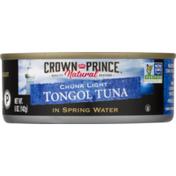 Crown Prince Tongol Tuna, in Spring Water, Chunk Light
