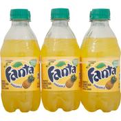 Fanta Soda, Pineapple Flavored
