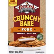 Louisiana Fish Fry Products Seasoned Coating Mix, Pork, Crunchy Bake