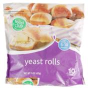 Food Club Yeast Rolls