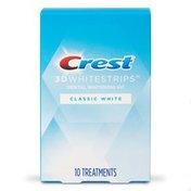 Crest 3Dwhitestrips Classic White At-Home Teeth Whitening Kit