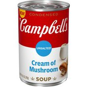 Campbell's® Condensed Unsalted Cream of Mushroom Soup