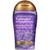 OGX Hydrate & Color Reviving + Lavender Luminescent Platinum Penetrating Oil