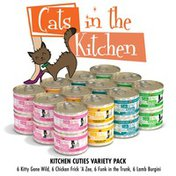 Weruva Cats in the Kitchen Grain Free Kitchen Cuties Variety Pack Canned Cat Food