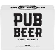 10 Barrel Brewing Co. Craft Lager Pub Beer