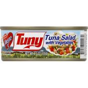 Tuny Tuna Salad, with Vegetables