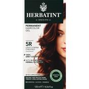 Herbatint Permanent Haircolor Gel, Light Copper Chestnut 5R