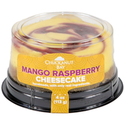 Chuckanut Bay Foods Mango Raspberry Mini Cheesecake