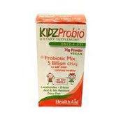 Healthaid KIDZProbio Probiotic Mix 5 Billion CFU/g to help keep tummies healthy with Prebiotic ONCE DAILY PROBIOTIC SUPPLEMENT VEGAN Powder