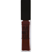 Maybelline ColorSensational Vivid Matte Liquid Lipstick 37 Coffee Buzz