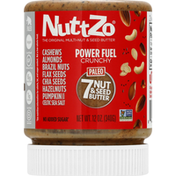 NuttZo 7 Nut & Seed Butter, Paleo, Power Fuel Crunchy