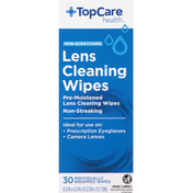 TopCare Lens Cleaning Wipes, Non-Scratching