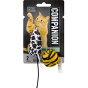 Companion Cat Toy Catnip Mouse and Ball