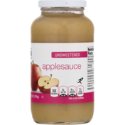 Food Lion Applesauce, Unsweetened, Jar
